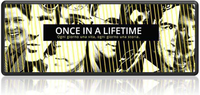 once in a lifetime - podcast